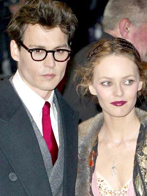 Johnny Depp and Vanessa Paradis | celebrity lookalike couples | pictures | celebrities | now magazine