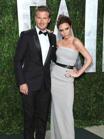 David and Victoria Beckham | Vanity Fair Oscars Party 2012 | Pictures | Photos | New | Celebrity News