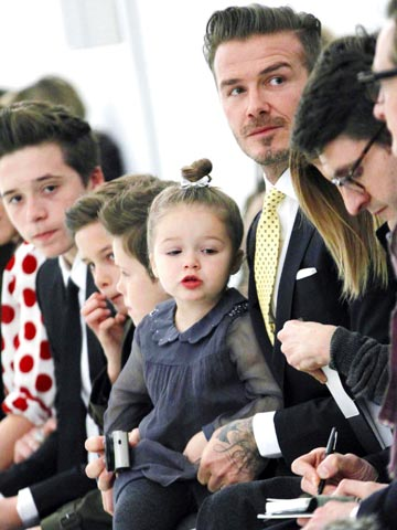 six reasons why we�ll never be as cool as harper beckham