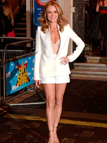 Get Amanda Holdens Very Sexy Figure Hugging Britains Got Talent Live Show Style For 30 At Asos Celebsnow