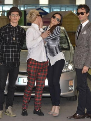 Oliver Proudlock, Jamie Laing, Lucy Watson and Mark-Francis Vandelli | Celebrity Spy | Pictures | Photos | New | Celebrity News