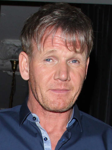 Omg Gordon Ramsay Shows Off Bizarre Fringe And Half