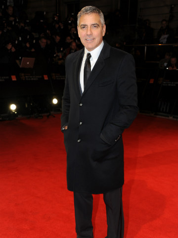 George Clooney | BAFTAs 2012 | Pictures | Photos | New | Celebrity News