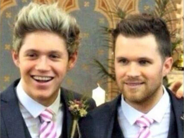 Photo of Niall Horan & his  Brother  Greg Horan