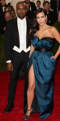 Kanye West and Kim Kardashian | Met Ball 2014 | Pictures | Photos | New | Celebrity News