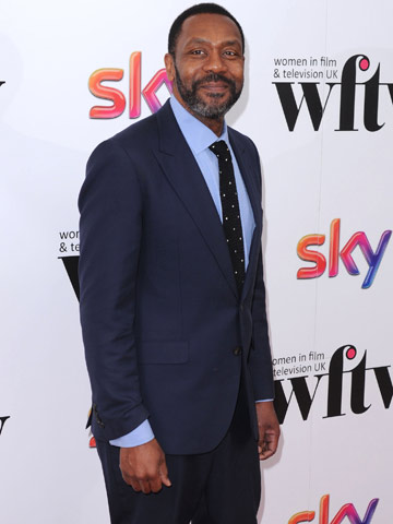 WOW! Lenny Henry wears slimline suit after losing 3st ...