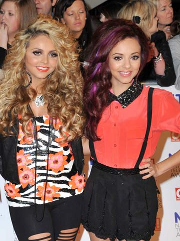 Double Shock Split Little Mix S Jade Thirlwall And Jesy