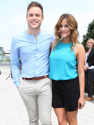 Olly Murs and Caroline Flack | X Factor Auditions Birmingham 2011 | Pictures | Photos | New