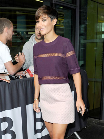 Wow Frankie Sandford Shows Off Hot Post Baby Body In Very
