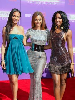 Destiny's Child Beyonce Knowles, Michelle Williams, and Kelly Rowland