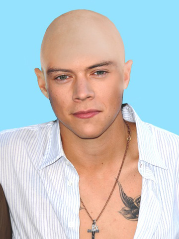 Lily Allen Dares Harry Styles Shave All Your Hair Off Celebsnow