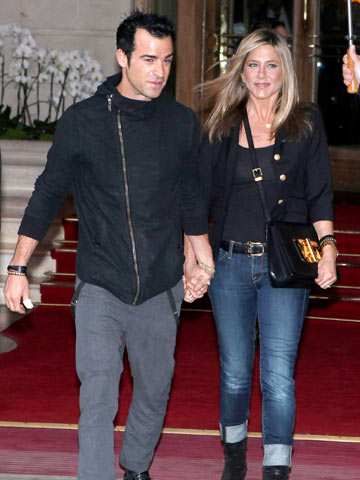 Justin Theroux and Jennifer Aniston |Celebrity Spy | New | Pictures | Photos | Celebrity News