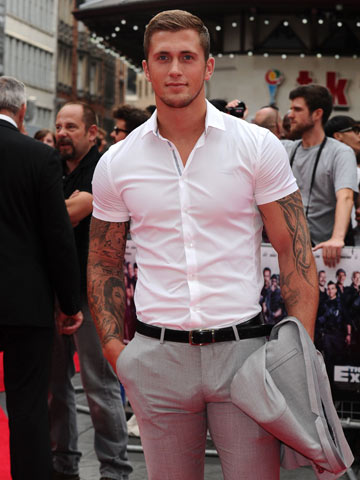 Exclusive Towie S Dan Osborne In Shock Car Accident