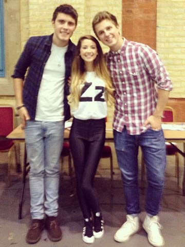 Zoella and alfie deyes a love story in pictures celebsnow zoella and alfie deyes a love story in pictures m4hsunfo