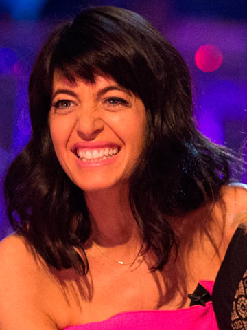 Strictly Host Claudia Winkleman S Shock Fringe