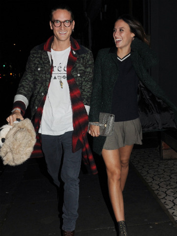 Made In Chelsea S Oliver Proudlock Lucy Watson And I Are