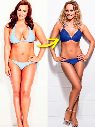 WOW PICTURES! Chanelle Hayes: I've lost 4 stone - by ...