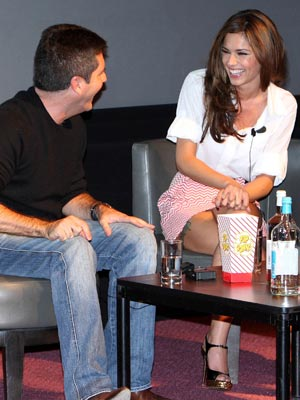 Cheryl Cole and Simon Cowell | Pictures | Photos | Celebrity gossip | Now Magazine