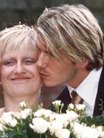 Inside David and Victoria Beckham's £7.99 Wetherspoons Christmas dinner plans! - Now magazine - 0000279ae-Lynne_Beckham_and_David_Beckham