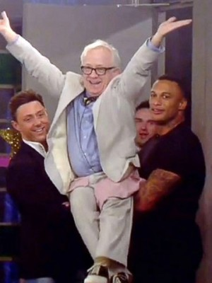Ricci Guarnaccio, Leslie Jordan and David McIntosh in Ricci Guarnaccio and David McIntosh's bromance in pictures