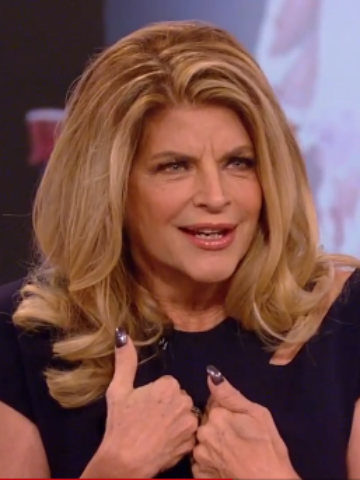Kirstie Alley shows off her slender figure in form fitting dress     Daily Mail