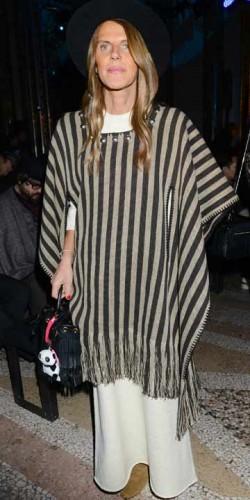 Anna Dello Russo wearing bad clothes