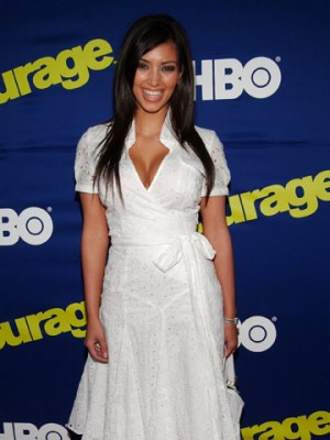 Kim Kardashian's changing body in pictures