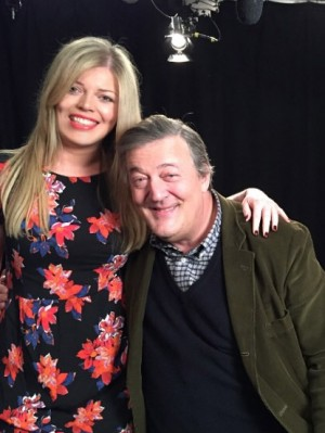 Amy Brookbanks, Stephen Fry