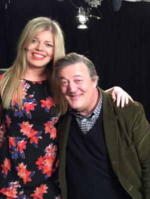 Amy Brookbanks, Stephen Fry