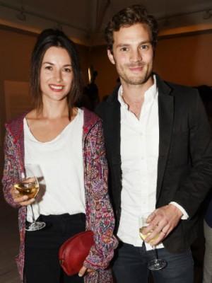 Jamie Dornan and Amelia Warner's love story in pictures