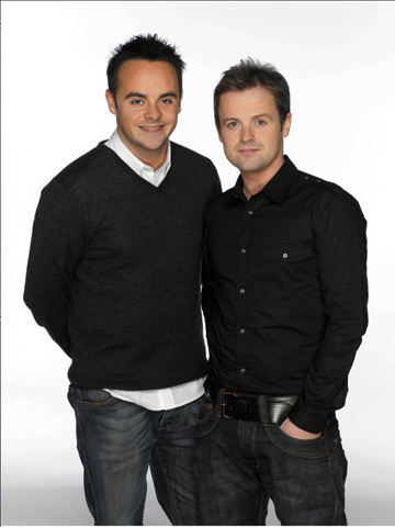 Ant and Dec 2008 Now magazine