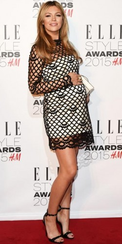 Abbey Clancy at the Elle Style Awards 2015
