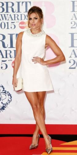 Zoe Hardman at the Brit Awards 2015