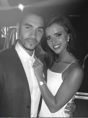 Lucy Mecklenburgh and Louis Smith | Now magazine | pictures | photos | celebrity news
