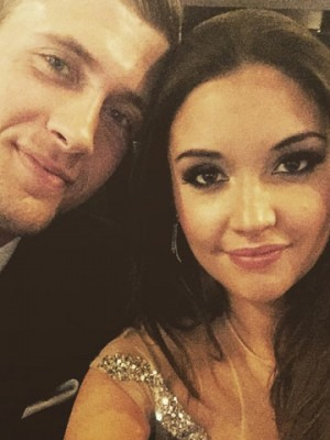 Dan Osborne and Jacqueline Jossa at the National Television Awards