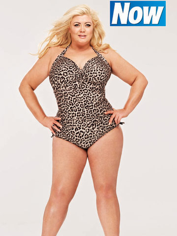 Gemma Collins Exclusive Shoot for Now Magazine