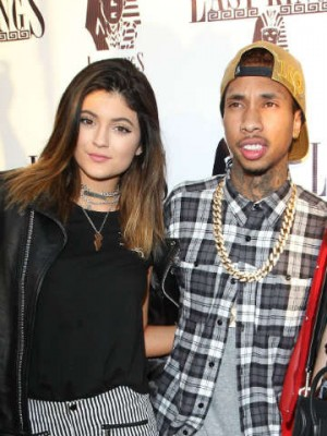 Kylie Jenner and Tyga at Last Kings store opening in Los Angeles