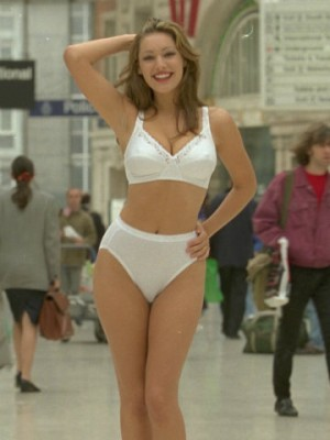 Kelly Brook's changing body
