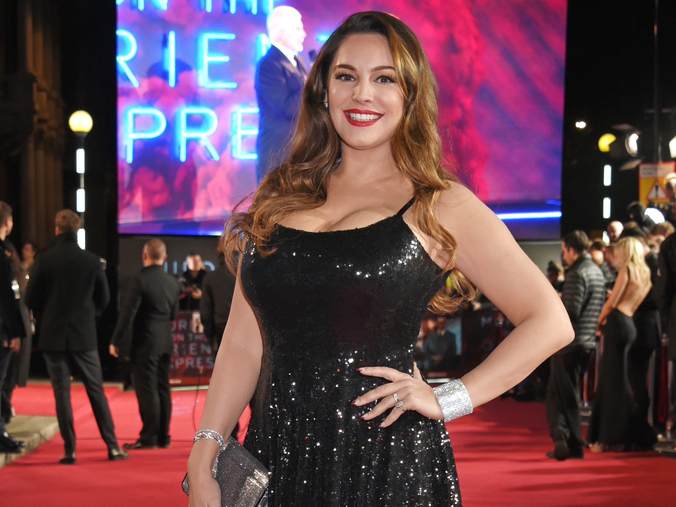 Kelly Brook's body transformation in pictures as she slims down to a size 12 after gaining two stone 2