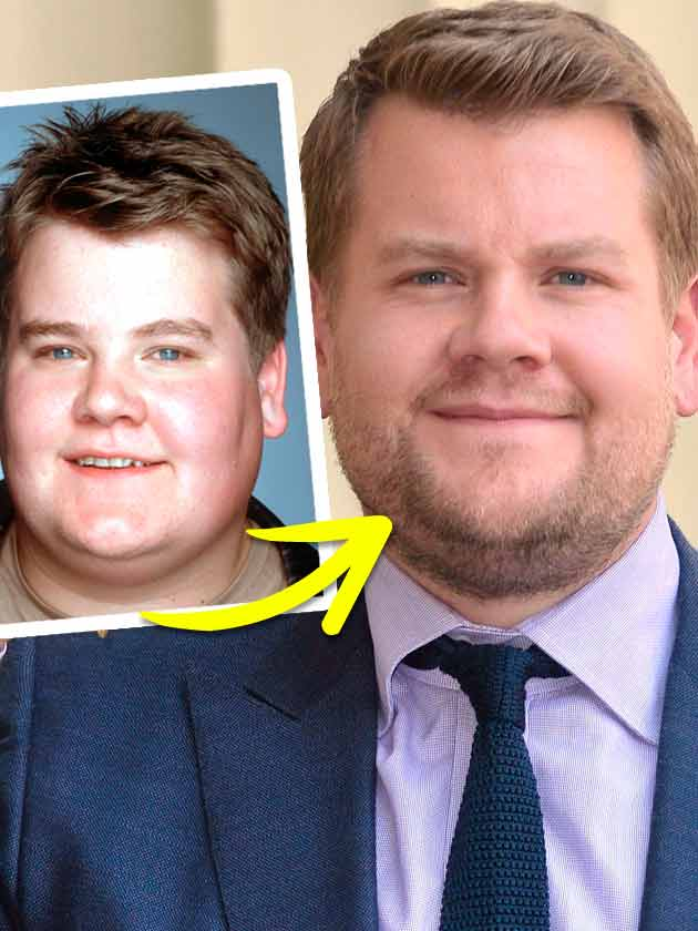 James Corden: Weight loss story in pictures
