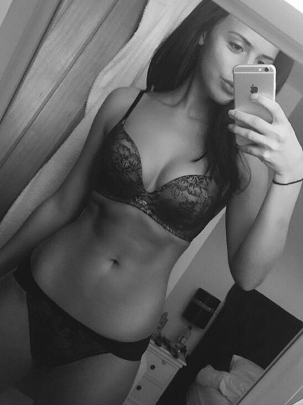 Towies Lucy Mecklenburgh Takes On Geordie Shores Charlotte Crosby With Sexy Selfie But Who Wins Celebsnow