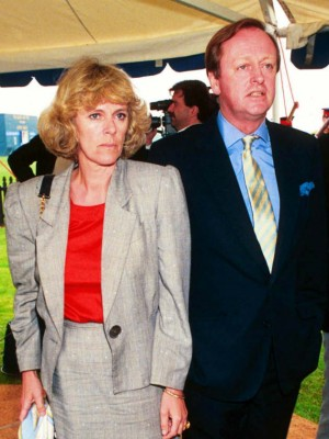 Camilla Parker Bowles and Andrew Parker Bowles in Prince Charles and Camilla Parker Bowles' love story in pictures