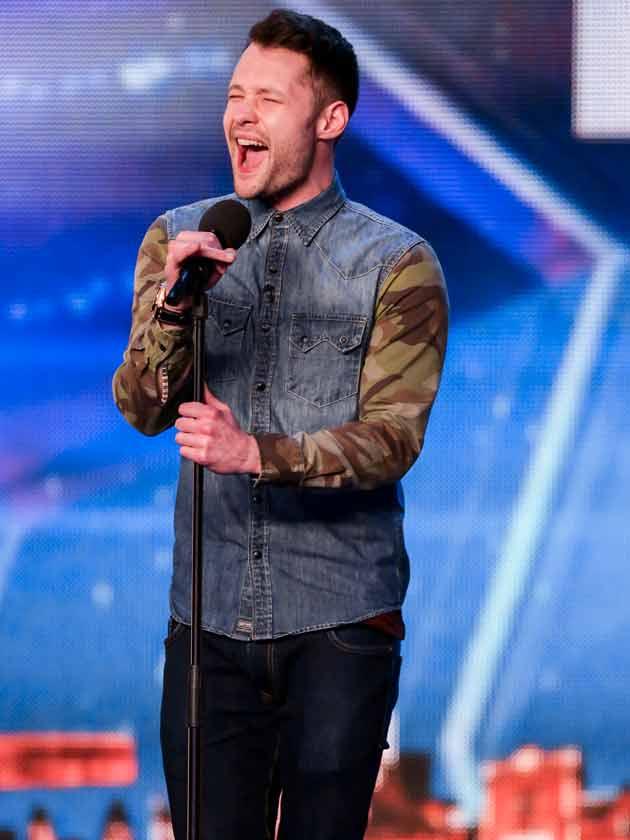 Single Britain S Got Talent Star Calum Scott Receives