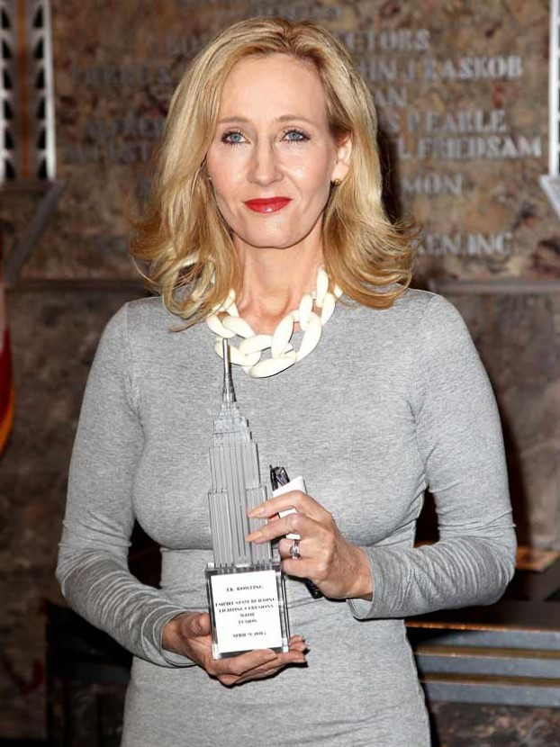 wowsers jk rowling reveals stunning transformation at charity  jk rowling reveals stunning transformation at charity launch in america celebsnow