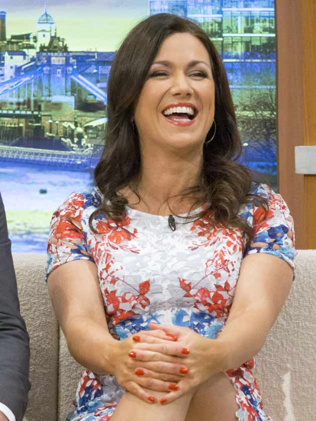 Oops Susanna Reid Flashes Her Pants On Good Morning