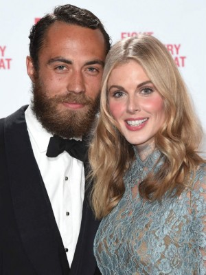 Donna Air and James Middleton's love story in pictures