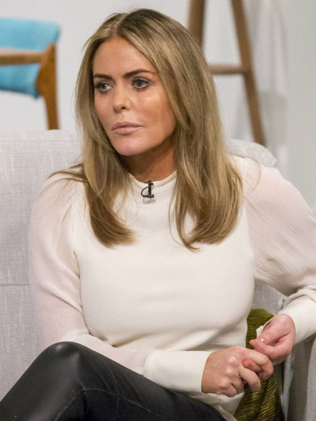 patsy kensit s cbb trauma i couldn t get out of celebrity