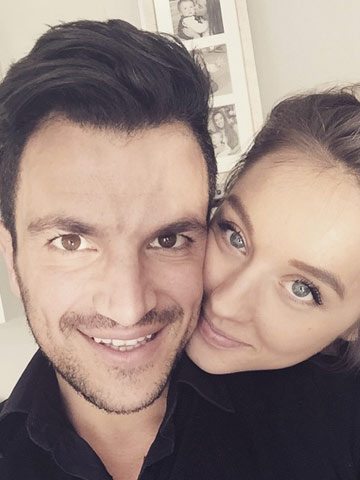 Wow peter andre looks almost as young as emily macdonagh in cute peter andre looks almost as young as emily macdonagh in cute instagram picture m4hsunfo