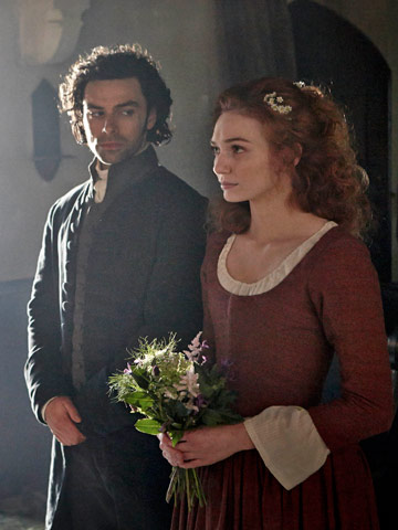 Poldark and Demelza Get Married