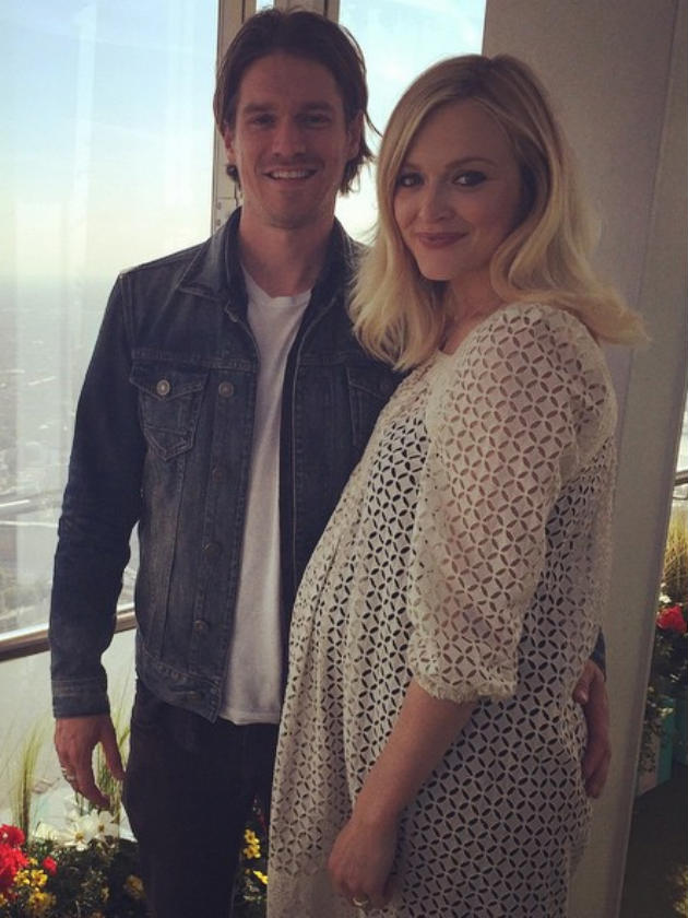 Fearne Cotton S Tribute To Husband Jesse Wood S Late Mum